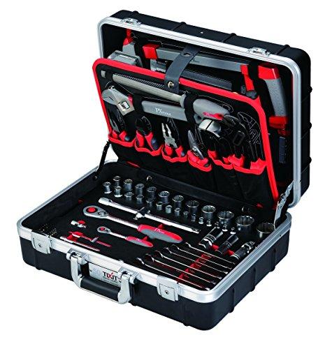 """Tixit ABS-Werkzeugkoffer """"Professional"""" - 150-teilig - mit hochwertigem ABS-Koffer"""