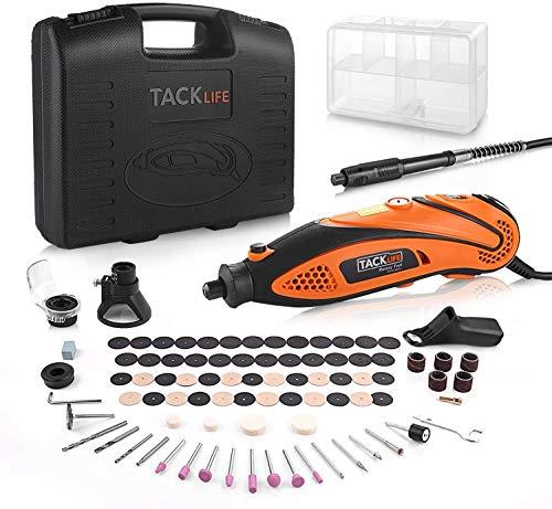 Tacklife RTD35ACL Advanced Multifunktionswerkzeug mit 80 Zubehör und 3 Aufsätzen