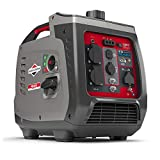 Briggs & Stratton 030800 Benzin Inverter Stromerzeuger Generator der PowerSmart Serie P2400 mit 2400 Watt/1800 Watt sauberem Strom, ultraleise und leichtgewichtigise...