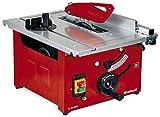 Einhell Tischkreissäge TC-TS 1200 (900 W, 4800 min-1, pulverbeschichteter Sägetisch, Winkeleinstellung für Gehrungsschnitte, höhenverstellbares,...