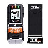 TACKLIFE Ortungsgerät, 5 in 1 Metalldetektor Wand Scanner Detektor, Leitungssucher mit großer LCD-Display, Kabelfinder mit Schutztasche für Stromleitung, Holz,...
