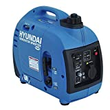 HYUNDAI Inverter-Generator HY1000Si D (Inverter Stromerzeuger, tragbarer Benzin Generator mit 1 kW Maximalleistung und SCHUKO Stecker, Notstromaggregat,...
