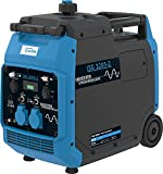 Güde ISG 3200-2 Inverter Stromerzeuger (3200 Watt Dauerleistung, 2x 230 Volt und 2x USB, Invertertechnik für empfindliche Geräte wie z.B. Handys oder Computer)...