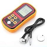 Thickness Meter, GM100 Digital Ultraschall Dickenmessgerät 1.2-220mm Stahlbreite, Schichtdickenmessgerät, Vierstellige LCD Anzeige, 0.01mm Auflösung