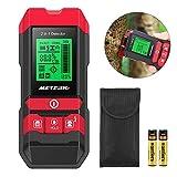 Ortungsgerät, Meterk MK55 Multifunktions 2 in 1 Wand-Scanner Detektor, Stud Finder Leitungssucher für Stromführende Leitungen, Holz, Metall und Feuchtigkeit mit...