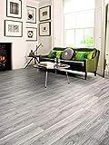 PVC Bodenbelag in eleganter Struktur (9,95€/m²), Zuschnitt (2m breit, 4m lang)