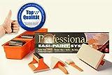 Aquablade Professional Easi Painter System inkl. 3-teiliger Verlängerungsstiel (ca. 52cm) - Spezial Malerwerkzeug für Profi und Heimwerker - Kein Tropfen – Kein...