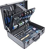 BGS 15501   Werkzeugkoffer   149-tlg.   Profi-Werkzeug   Alu-Koffer   gefüllt   abschließbar   Werkzeugkiste   Werkzeugbox