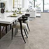 PVC Bodenbelag Beton Stein Grau Tarkett 260D Rock Grey Black | Schallreduzierend & hoher Gehkomfort (Musterstück DIN A4)