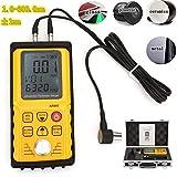 Ultraschall Dickenmessgerät,AR860 digitaler Ultraschall Dickenmessgerät Tester,Ultraschall Dickenmessgerät Schallgeschwindigkeitsmesser...