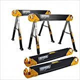 ToughBuilt C650SET C650 SET 2 PIECES SAWHORSE, black-yellow
