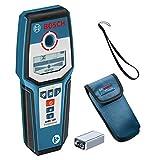 Bosch Professional digitales Ortungsgerät GMS 120 (max. Detektionstiefe Holz/Eisenmetalle/Nichteisenmetalle/spannungsführende Leitungen: 38/120/80/50 mm, im...