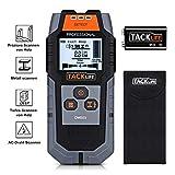 Ortungsgerät Tacklife DMS03 4 in 1 Metalldetektor Wand Scanner Stud Finder Leitungssucher für Holzbolzen/Metall/Live-AC-Kabel, Tiefenerkennung mit Großer LCD...