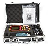 DecentGadget Ultrasonic Thickness Meter Tester Gauge Velocity 1.2~225mm Metal Wave// DecentGadget Ultraschall-Dickenmessgerät Tester Messgerät Velocity 1.2 ~ 225mm...