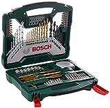 Bosch 70tlg. X-Line Titanium-Bohrer und Schrauber Set (Holz, Stein und Metall, Zubehör Bohrmaschine)