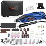 AUTSCA Multifunktionswerkzeug Drehwerkzeug Mit 168 teiligen Zubehörset und 4 Aufsätzen mit viel Zubehör beliebter Allrounder für Hand- und Heimwerker Komplettes...