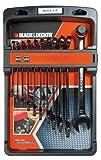 Black + Decker BDHT0-71618 Maulringschlüsselsatz, 11-teiliges Set