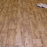 PVC Bodenbelag Holz Rustikal Natur (11,90 € p. m²) (Muster DIN A4)