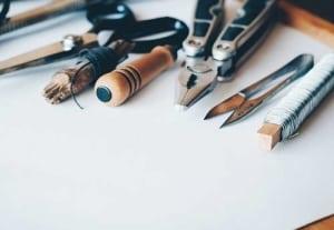 Eine gute Werkzeugausstattung ist ein Grant für das DIY Gelingen